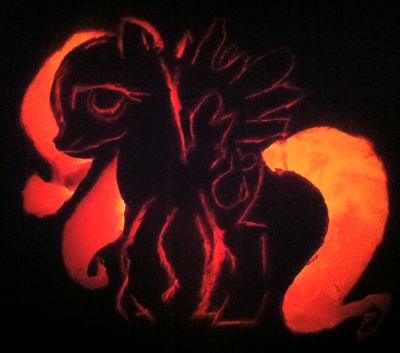 Out of Darkness Pumpkin Photo